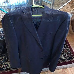 Sport coat-Black fits like a 42R